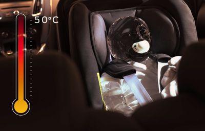 System Forda zapobiegnie pozostawieniu dziecka w rozgrzanym samochodzie