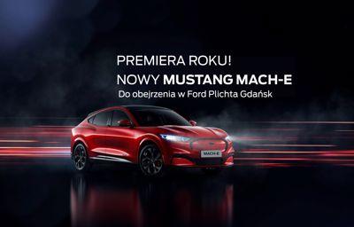 Premiera roku! Nowy Mustang Mach-E w Ford Plichta Gdańsk.