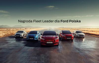 Nagroda Fleet Leader dla Ford Polska za kompleksową hybrydyzację gamy pojazdów SUV oraz konsekwentną rozbudowę oferty samochodów dostawczych