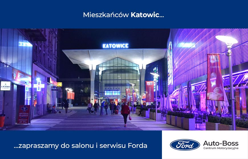 Ford Katowice salon i serwis