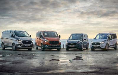 Ford liderem rynku samochodów dostawczych o DMC do 3,5 tony w styczniu 2021.