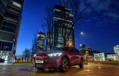 Ford Mustang Mach-E liderem rynku