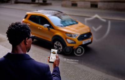 Twój samochód może powiadomić Cię za pośrednictwem smartfona, że ktoś się do niego włamuje