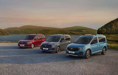 Tourneo Connect - Ford prezentuje zupełnie nowy samochód wielofunkcyjny