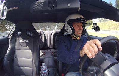 Piloten som testar Mustangens gränser