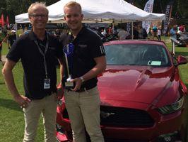 BilMånsson, bästa utställare på Halmstad Sports Car Event
