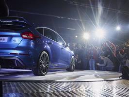 Förhandsvisning av nya prestandamodellen Ford Focus RS