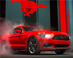 Första Mustangerna har börjat anlända!