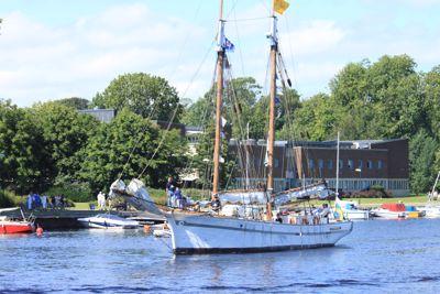 BilMånsson hjälper unga trainees få en plats i The Tall Ships Races