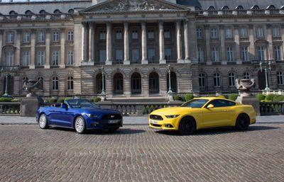 Intresset för Ford Mustang växer i Europa