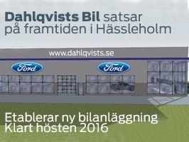 Dahlqvists Bil satsar på framtiden i Hässleholm!