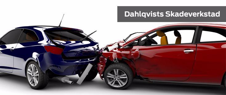 Skadeverkstad hos Dahlqvists Bil