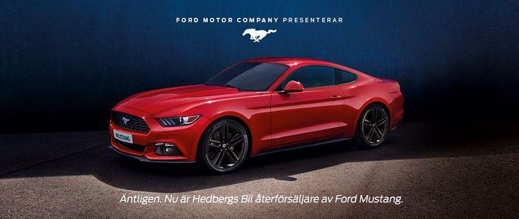 FordStore Hedbergs Bil Mustang