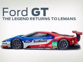 Ford återvänder till Le Mans 2016
