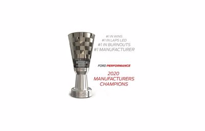 Ford Wins 2020 NASCAR Cup Series Manufacturers' Championship