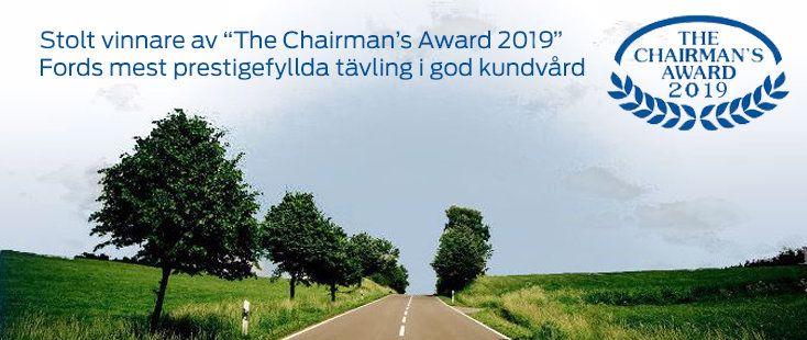 The Chairmans Award 2014 | Lindqvist din Ford återförsäljare i Köping
