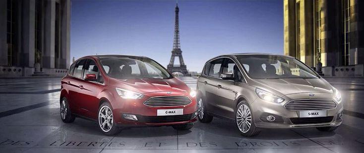 Ford premiärvisar helt nya S-MAX på bilmässan i Paris