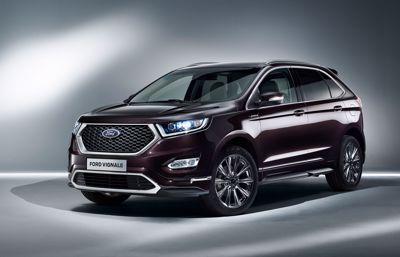 Ford Edge Vignale kommer till Sverige i november