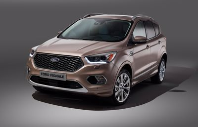 Ford presenterar nya Ford Kuga Vignale – en av modellerna i 2016 Ford Vignale Collection