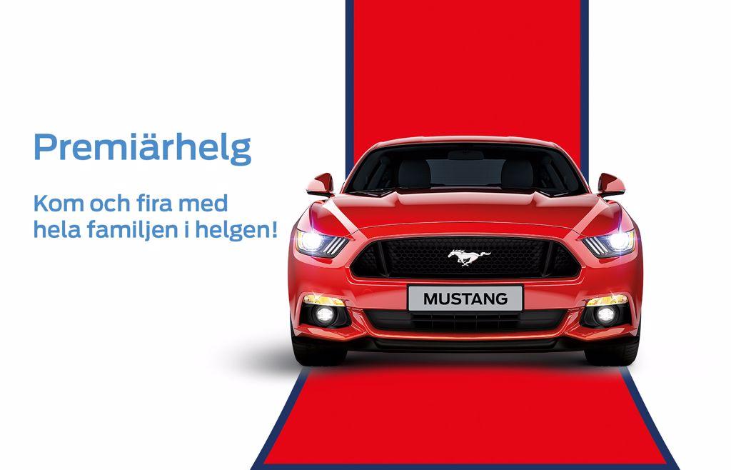 Premiärhelg för FordStore Hedin Bil