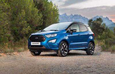 Nya Ford EcoSport – en SUV med en stadsbils praktiska egenskaper