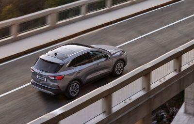 Nya Ford Kuga levererar bränsleeffektivitet i toppklass