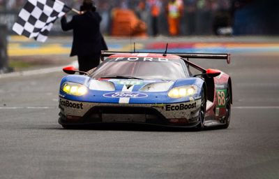 Fyra Ford GT deltar vid årets upplaga av Le Mans 24-timmarslopp