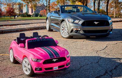 Ge bort en Mustang i julklapp – till barnen