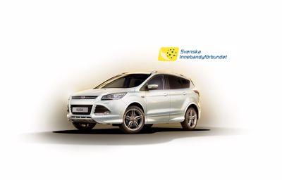 Ford Kuga officiell bil för Svensk Innebandy