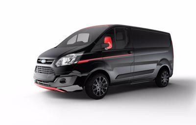 Ford avslöjar nya Transit Custom-modeller: Black Edition och Sport Series
