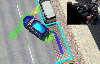 Ford utvecklar sin parkeringshjälp