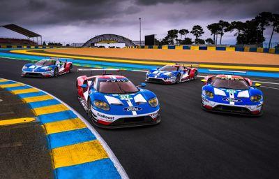 Fords racingteam siktar på att försvara sin titel vid Le Mans 24 timmar