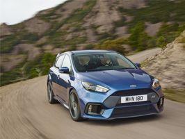 Ford avslöjar att nya Focus RS har 350 hk