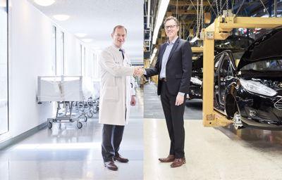 Fords tillverkningsprocesser implementeras inom cancervården