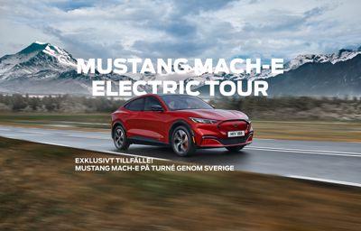 Fords nya Mustang Mach-E drar ut på Sverigeturné – ska besöka 45 platser runt om i landet