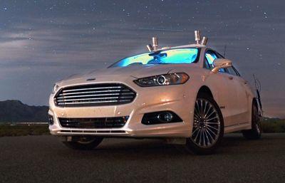 Ford gör framsteg med självkörande bilar i totalmörker
