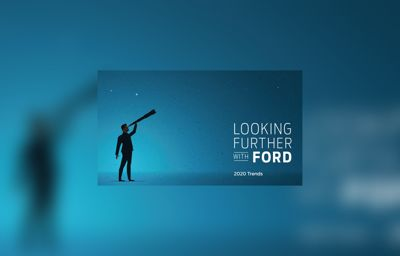 Förtroende är ett dominerande tema i Fords trendrapport för 2020