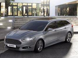 Helt nya Ford Mondeo erbjuder fotgängarskydd, nya motorer och minskad vikt