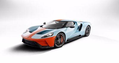 Nya 2019 Ford GT Heritage Edition hedrar motorsportens mest kända färgschema