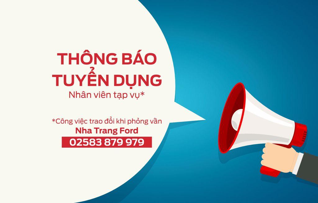 Tuyển dụng Nha Trang