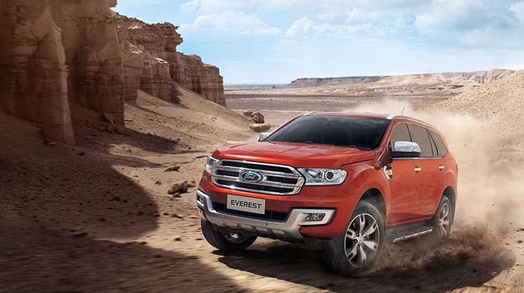 Phụ kiện của xe Ford Everest