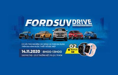 SỰ KIỆN LÁI THỬ FORD SUV DRIVE 2020 CÙNG CITY FORD