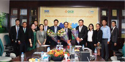 OCB ký kết hợp tác toàn diện với City Ford và PTI Phú Mỹ Hưng