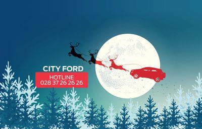 Dòng xe Ford nào dành cho Ông già Noel đêm giáng sinh?