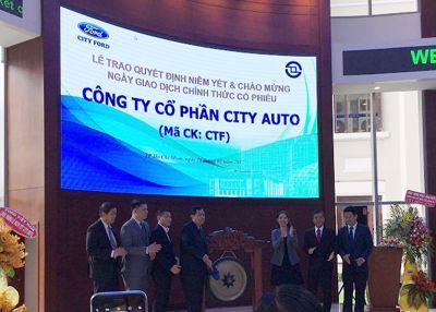 City Auto: 18 triệu cổ phiếu chính thức giao dịch trên HOSE