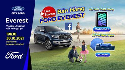 Livestream Bán Hàng Ford Everest