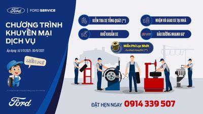 Chương trình khuyến mãi dịch vụ tới hết 30/09/2021