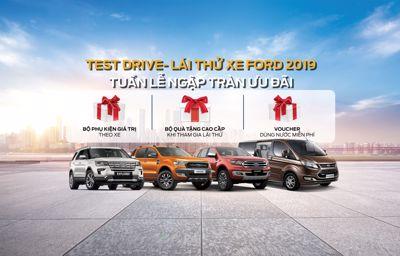 Chương trình Lái thử Motorshow cùng Phú Mỹ Ford