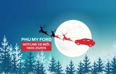 Dòng xe Ford nào dành cho Ông già Noel?