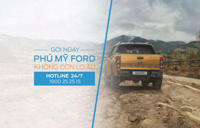 Mua Ford Gọi Phú Mỹ Ford - Không Còn Lo Âu